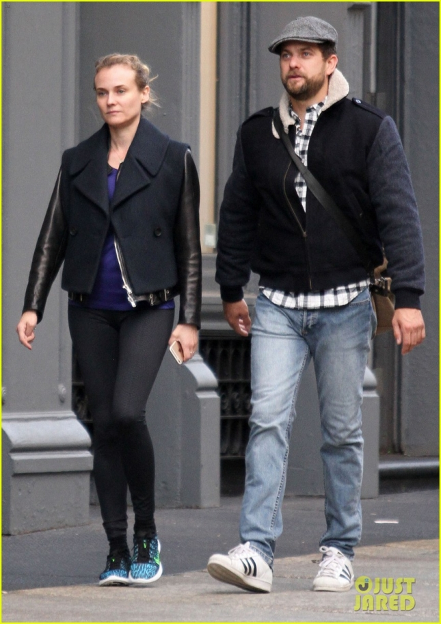 Diane Kruger & Joshua Jackson Out In NYC