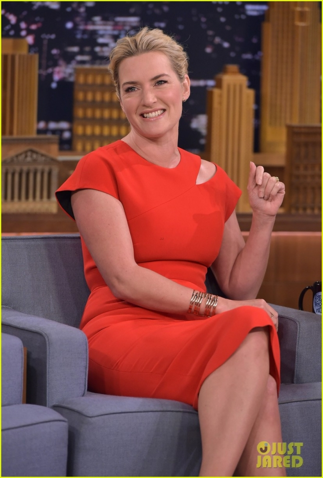 "Kate Winslet Visits ""The Tonight Show Starring Jimmy Fallon"""