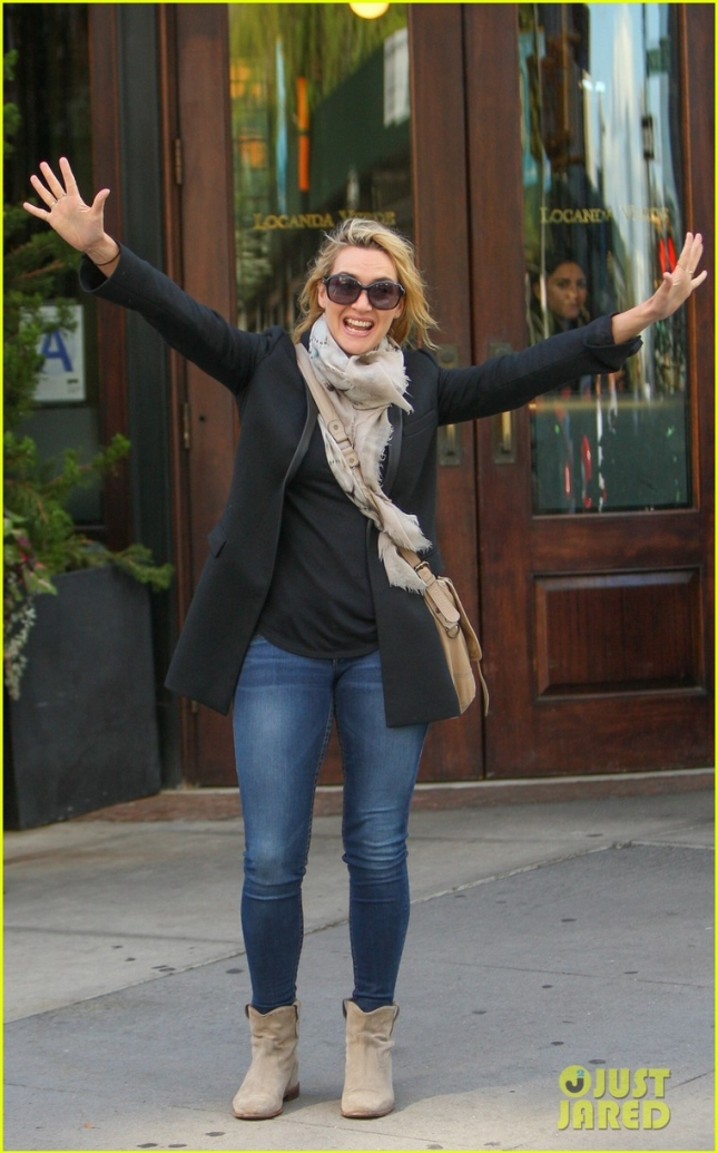 Kate Winslet Out in New York City