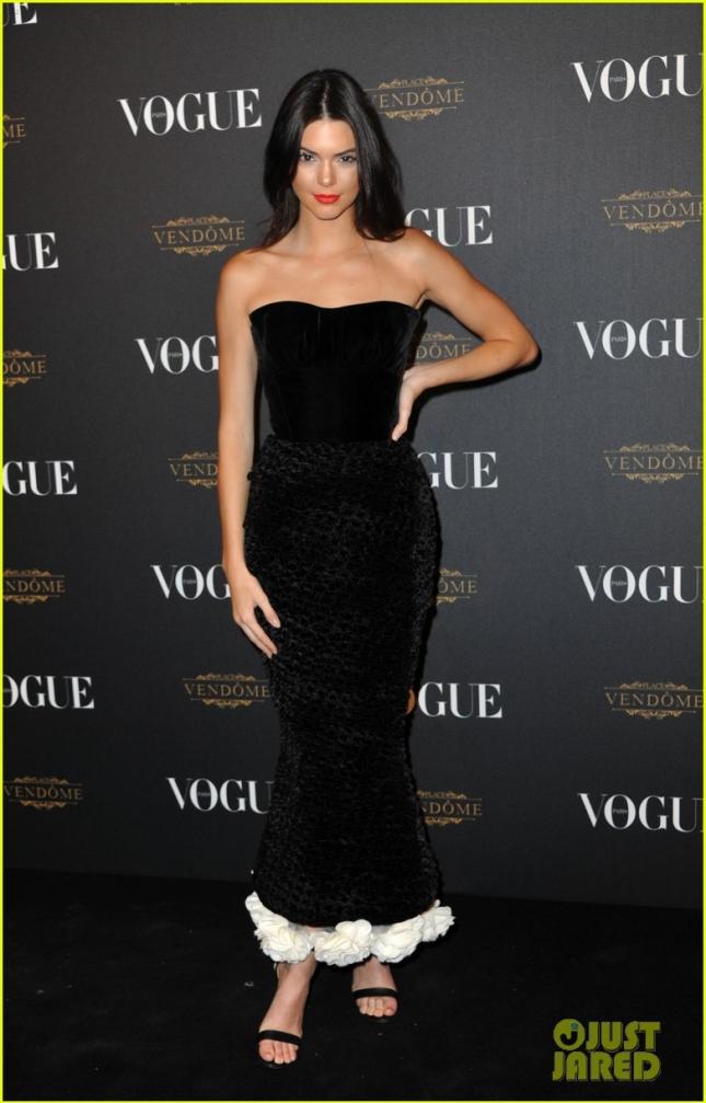 Кендалл Дженнер на вечеринке Vogue