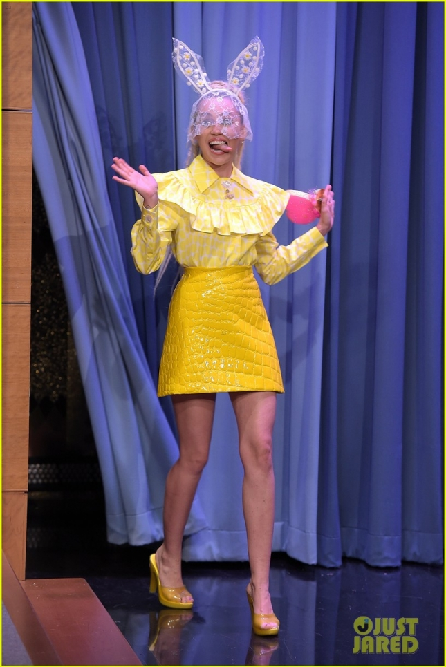 "Miley Cyrus Visits ""The Tonight Show Starring Jimmy Fallon"""