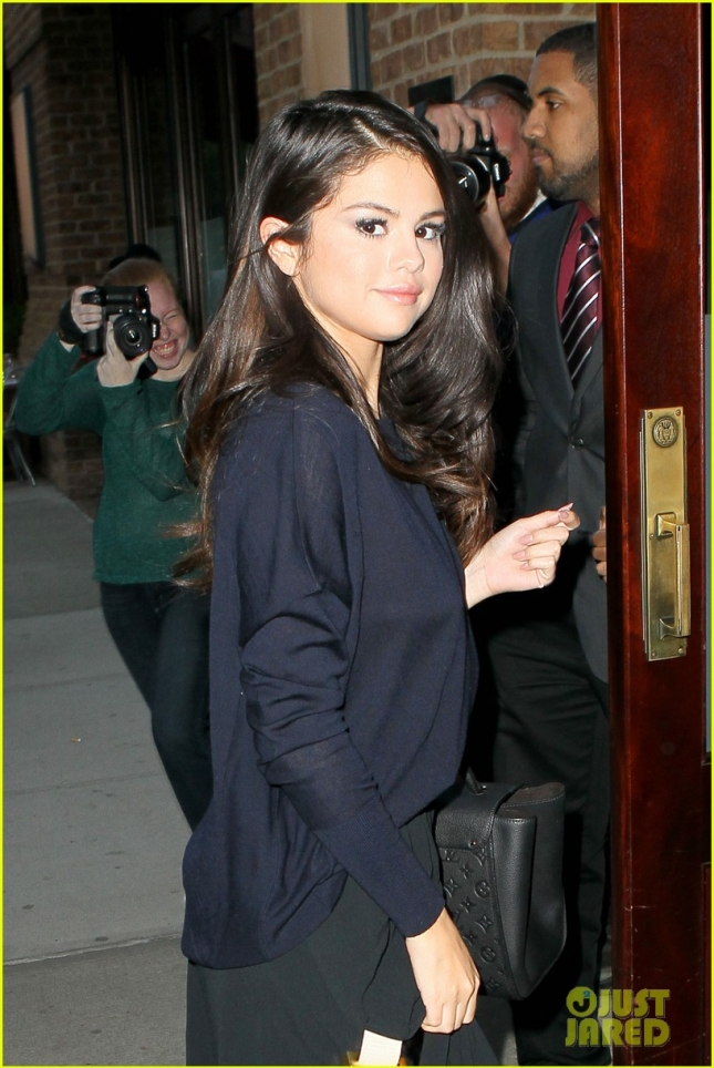 Selena Gomez Arrives at The Greenwhich Hotel