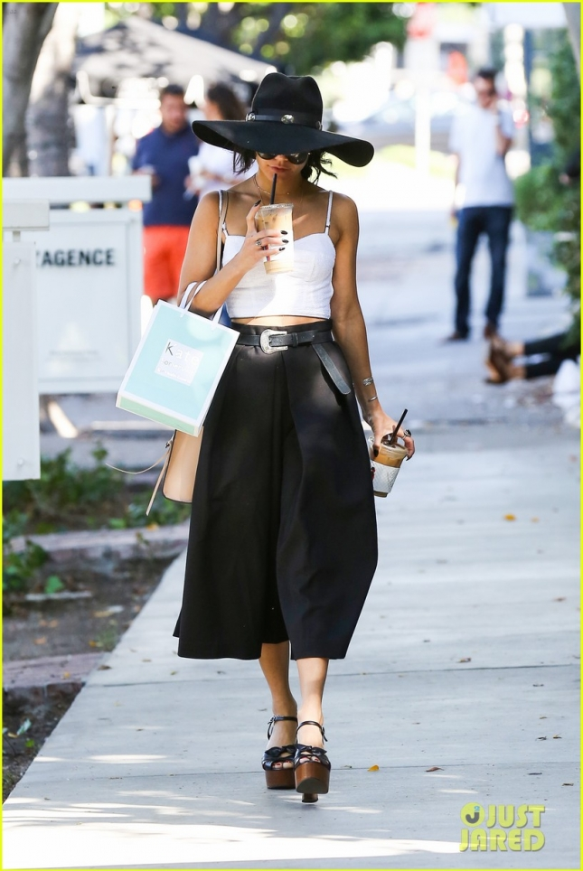 Vanessa Hudgens is a stylish shopper in WeHo