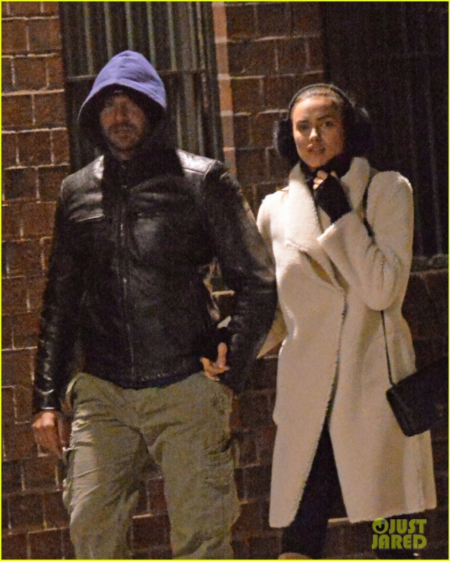 Bradley Cooper and GF Irina Shayk Holding Hands While Out For Dinner