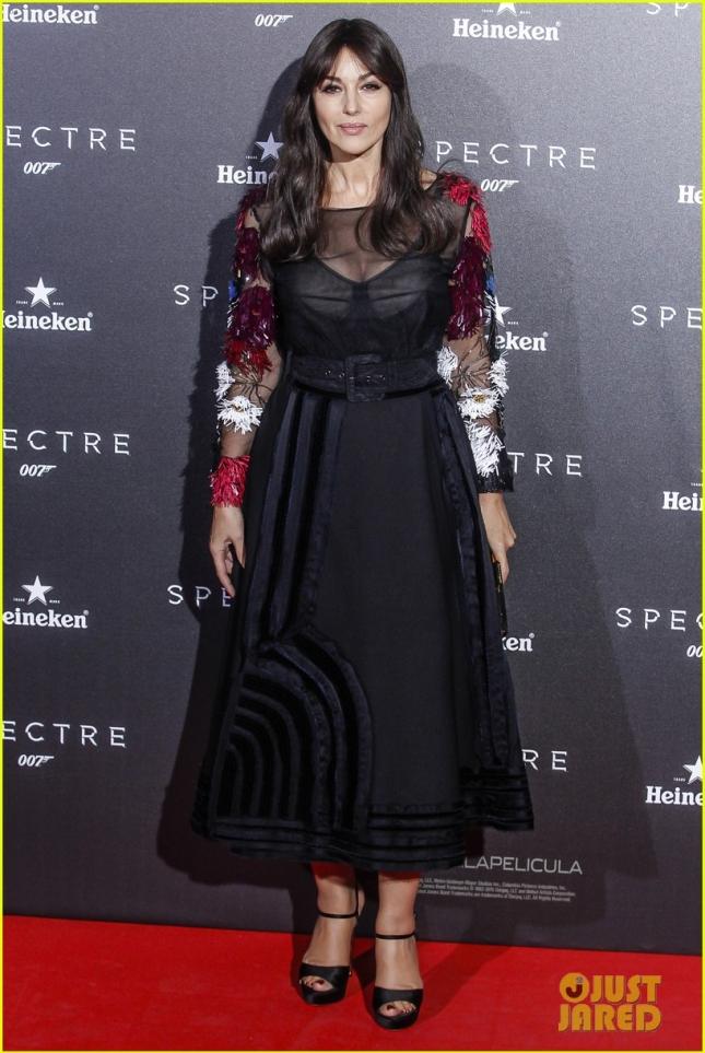 Моника Белуччи на премьере в Мадриде