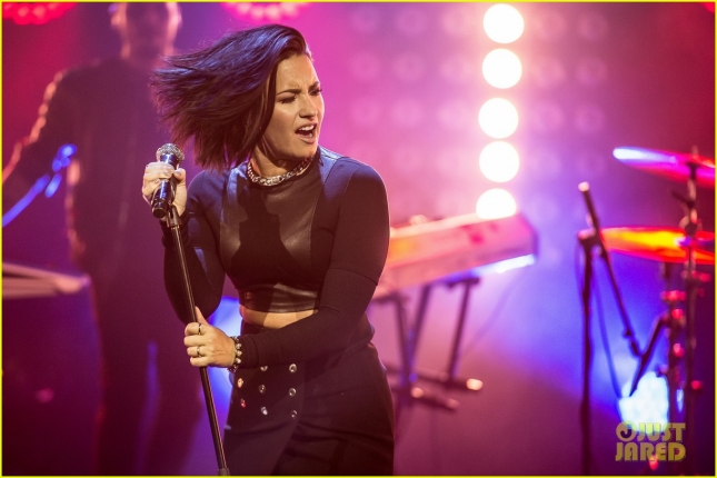 Demi Lovato Appears On 'Senkveld' In Oslo