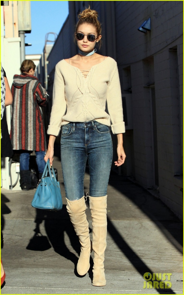 Gigi Hadid Spotted Out And About In Beverly Hills