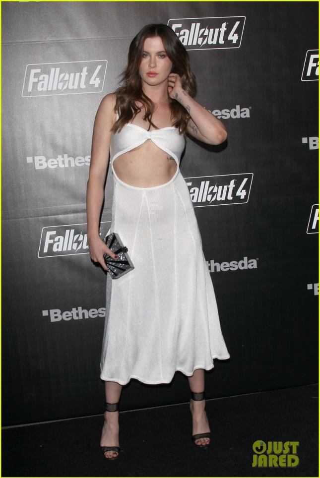 Stars shine at the Fallout 4 Video Game Launch in Los Angeles