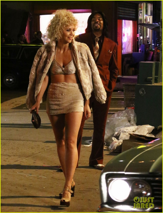 Stars On The Set Of 'The Deuce'
