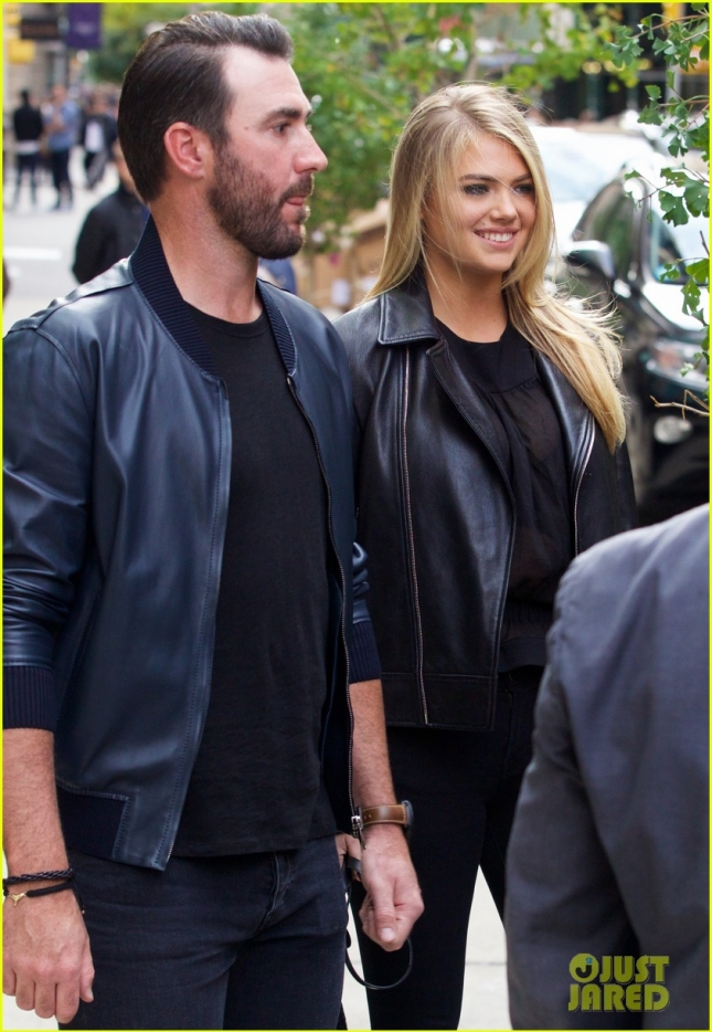Kate Upton and Justin Verlander in Soho