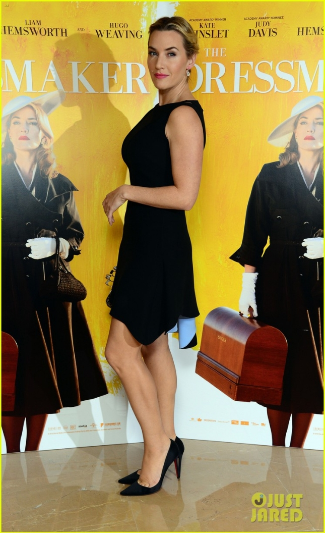 A special screening of The Dressmaker, attended by Kate Winslet at The Mayfair Hotel, London, 11 November 2015