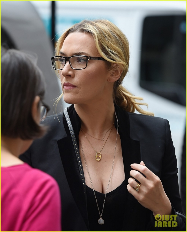 Kate Winslet Goes Shopping In London