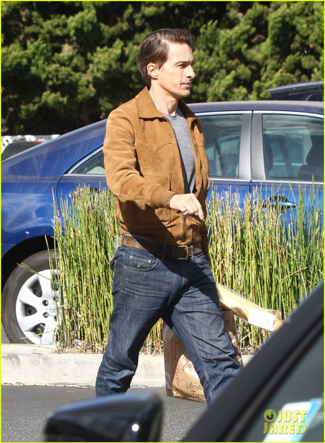 Olivier Martinez Out And About In Los Angeles
