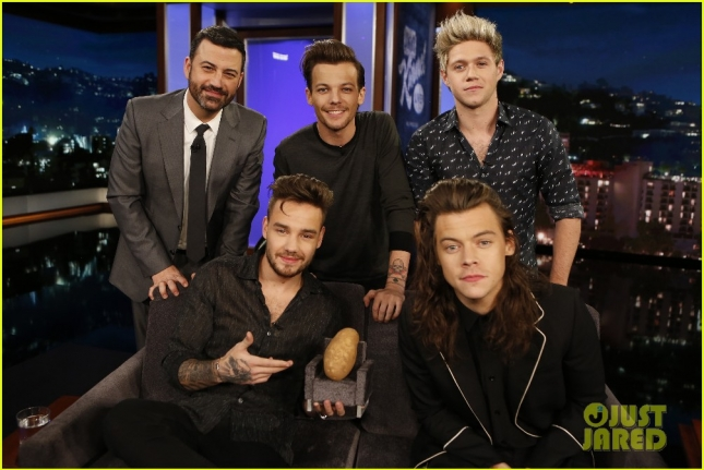 JIMMY KIMMEL, ONE DIRECTION