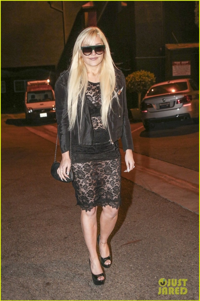 Amanda Bynes spotted leaving the Obsev Studios Holiday Party