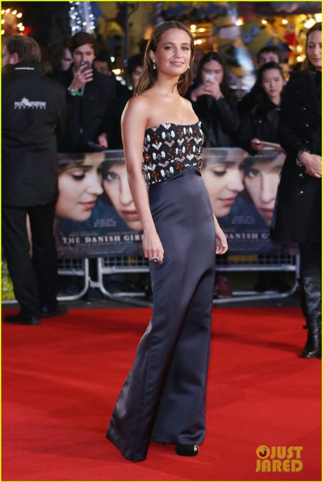 The Danish Girl UK premiere