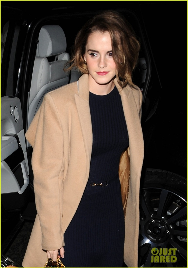 Emma Watson out and about in London