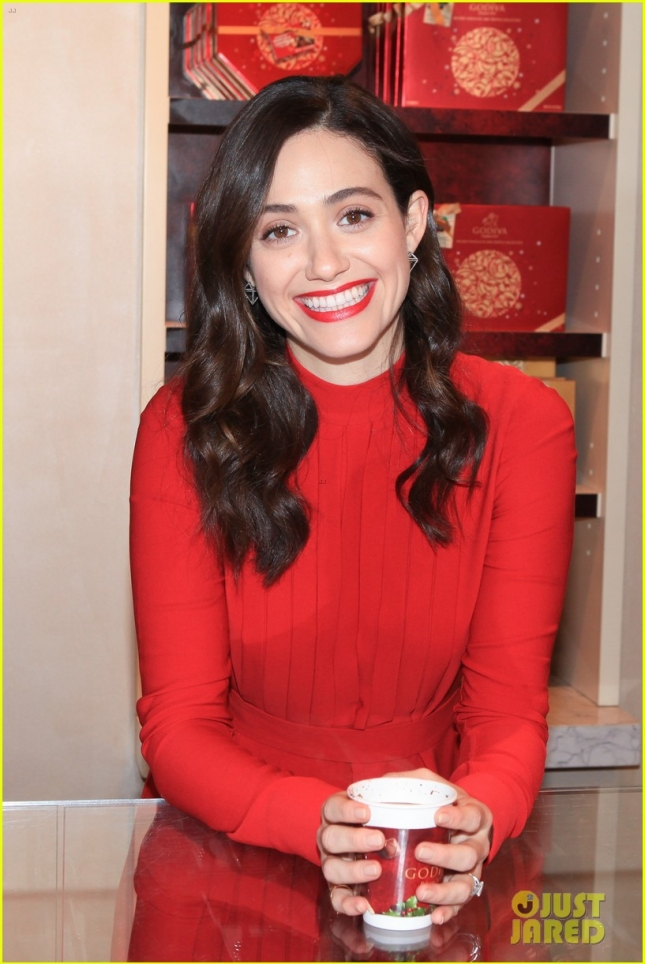 Emmy Rossum attends the 'Hot Chocolate For A Cause'
