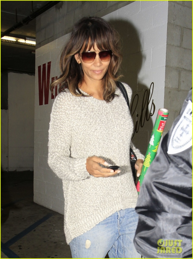 Halle Berry Shops At CVS