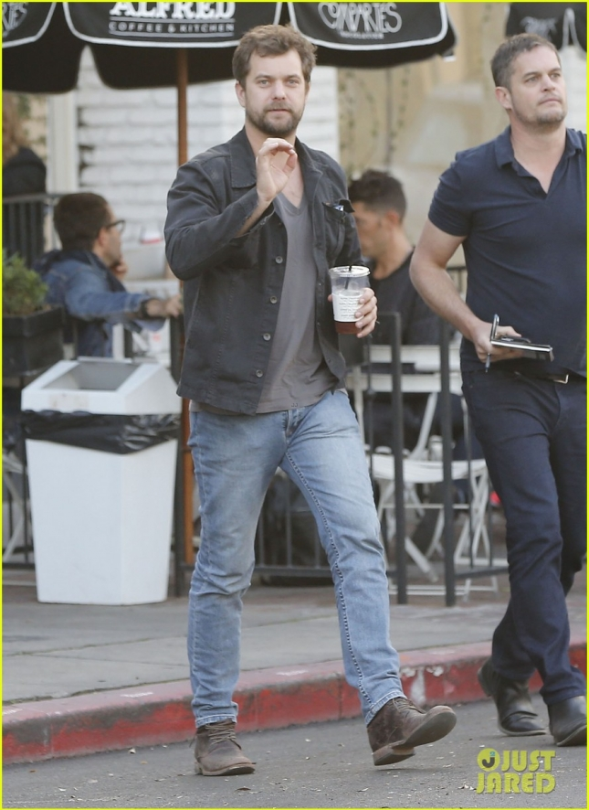 Joshua Jackson Out With A Friend In West Hollywood