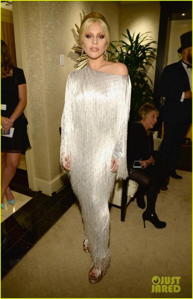 Леди Гага на концерт в память о Фрэнке Синатре, которому в этом году могло исполниться 100 лет