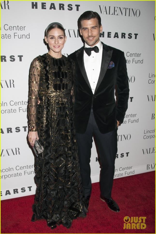 Оливия Палермо с супругом