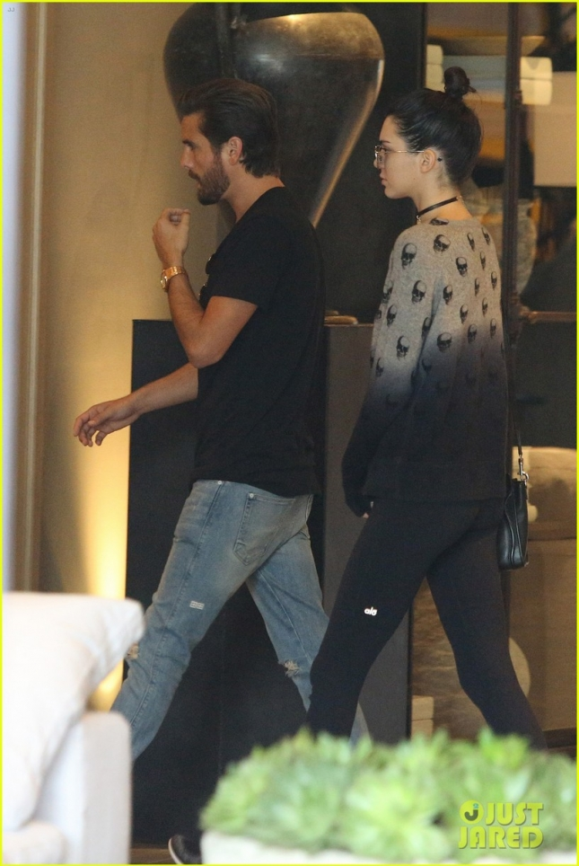 *EXCLUSIVE* Scott Disick and Kendall Jenner spend quality time together in West Hollywood