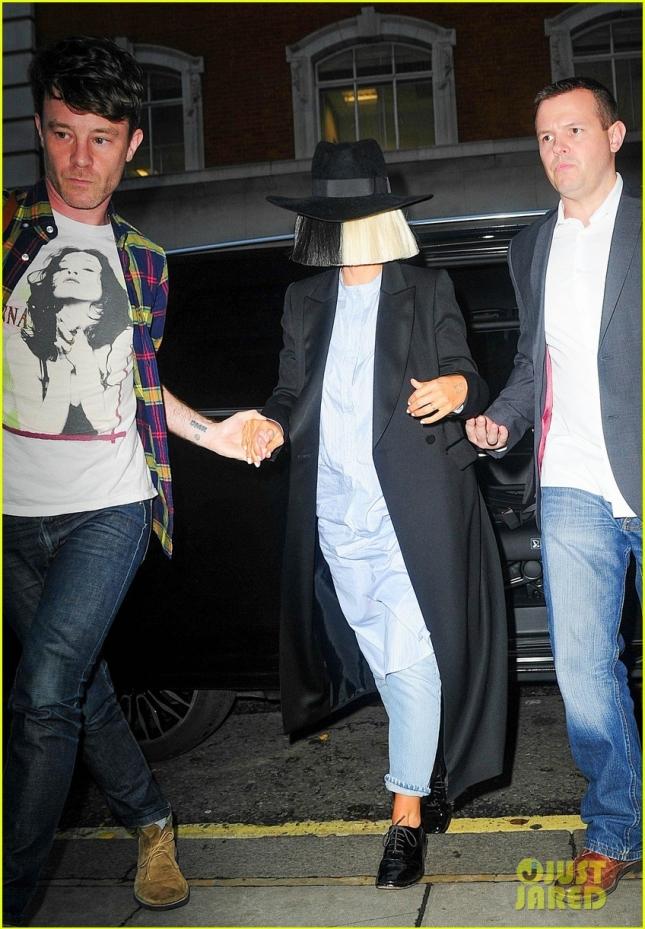 Shy Sia Arrives At BBC Studios