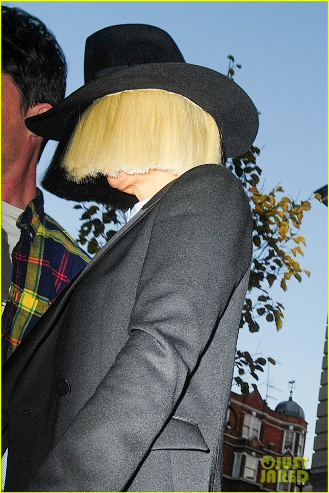 Shy Sia Arrives At BBC Studios