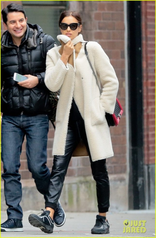 Irina Shayk Looking Chic In NYC