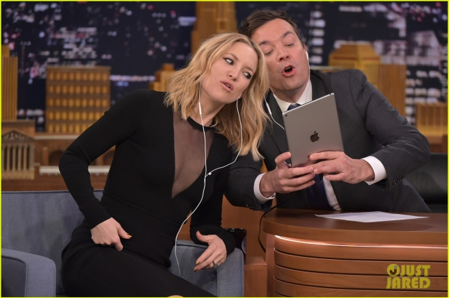 "Kate Hudson Visits ""The Tonight Show Starring Jimmy Fallon"""