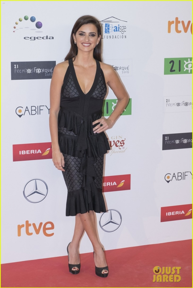 Penelope Cruz attends the 31st Jose Maria Forque cinema awards