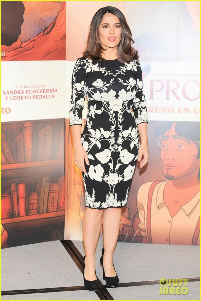 Salma Hayek Attends El Profeta film Photocall