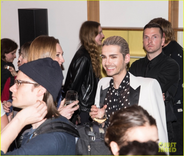 Celebrities attend the fashion presentation of a video installation by Berlin designer label Lala Berlin at Mercedes-Benz Fashion Week