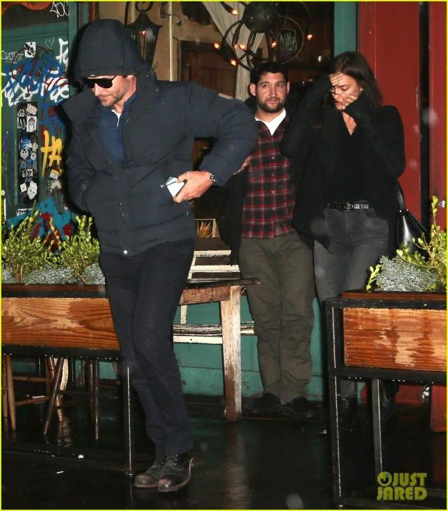 Bradley Cooper & Irina Shayk Dine With Jonah Hill In NYC
