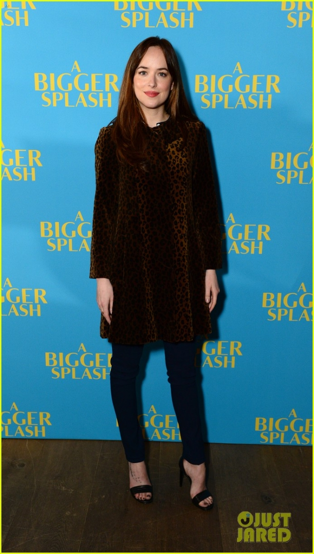 Dakota Johnson attends 'A Bigger Splash' Q&A  at Ham Yard Hotel on February 7, 2016 in London, England.