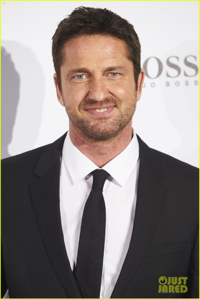 Gerard Butler For Hugo Boss Party 'Man of Today'