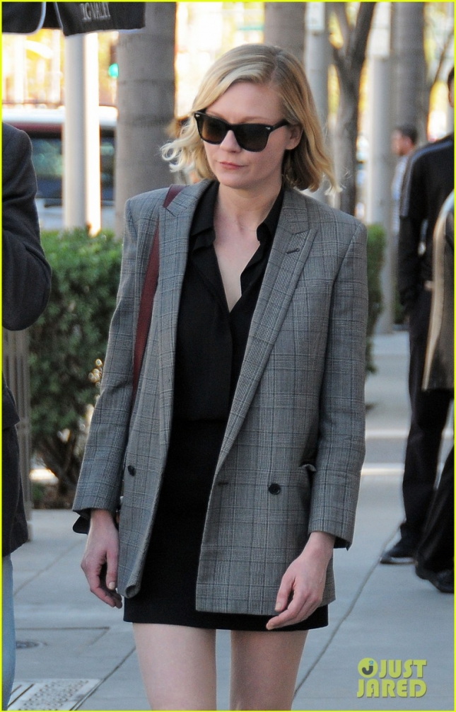 Kirsten Dunst Shops With Her Father In Beverly Hills