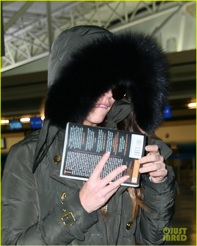 Megan Fox Touches Down at JFK Airport