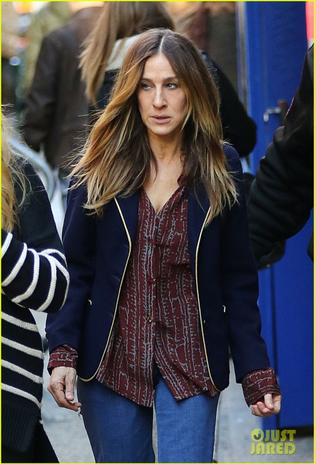 Sarah Jessica Parker Filming 'Divorce' in New York