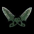 Тычковые ножи | Пиксельный камуфляж «Лес»