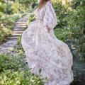 Неструктурированное платье