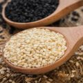 Кунжут — 56% (процент суточной потребности витамина в 100 г.)