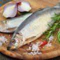 Сельдь жирная — 39% (процент суточной потребности витамина в 100 г.)