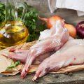 Мясо (кролик) — 58% (процент суточной потребности витамина в 100 г.)